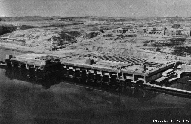 немецкая база подводных лодок на лене